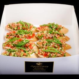 Bruschetta box (лосось)