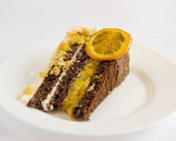 Дабл-чоко апельсиновый торт
